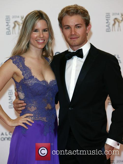 Nico Rosberg and Vivan Sibold 1