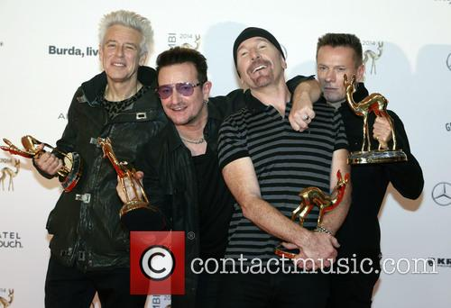 Adam Clayton, Bono, The Edge, Larry Mullen Junior and U2 5