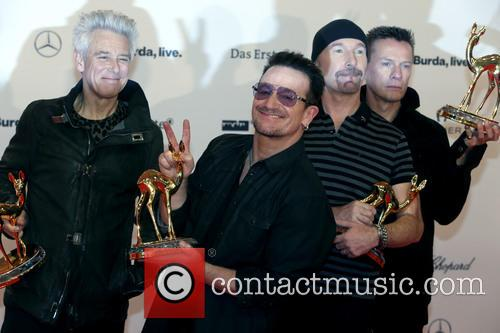 Adam Clayton, Bono, The Edge, Larry Mullen Junior and U2 1