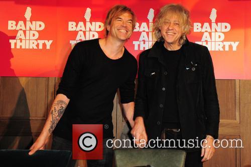 Campino and Sir Bob Geldof 2