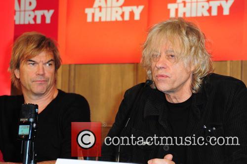 Campino and Sir Bob Geldof 1
