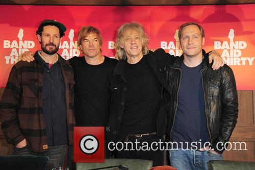Max Herre, Campino, Sir Bob Geldof and Thees Uhlmann 2