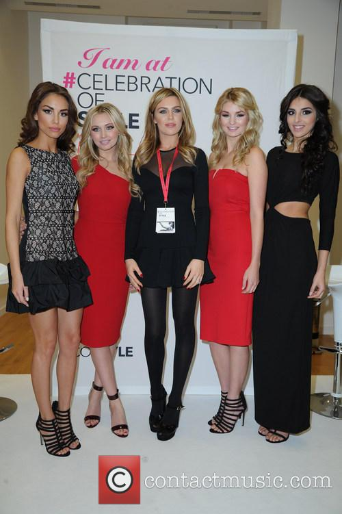 Abbey Clancy and Models 11