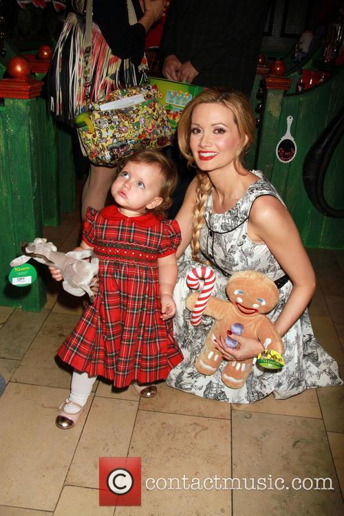 Holly Madison At Adventure To Santa Las Vegas
