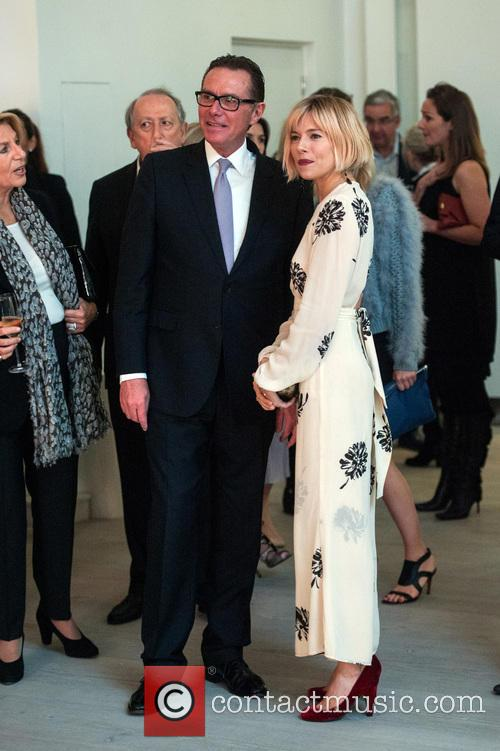 Sienna Miller, Richard Carter and Director Of Communications At Rolls-royce 2