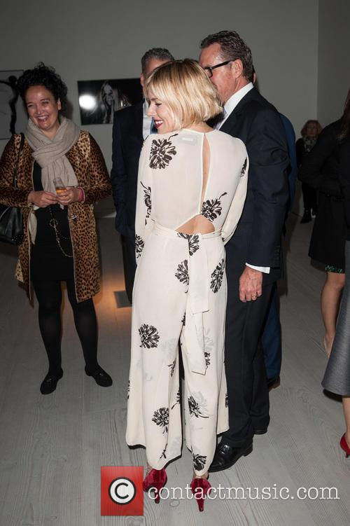 Sienna Miller, Richard Carter and Director Of Communications At Rolls-royce