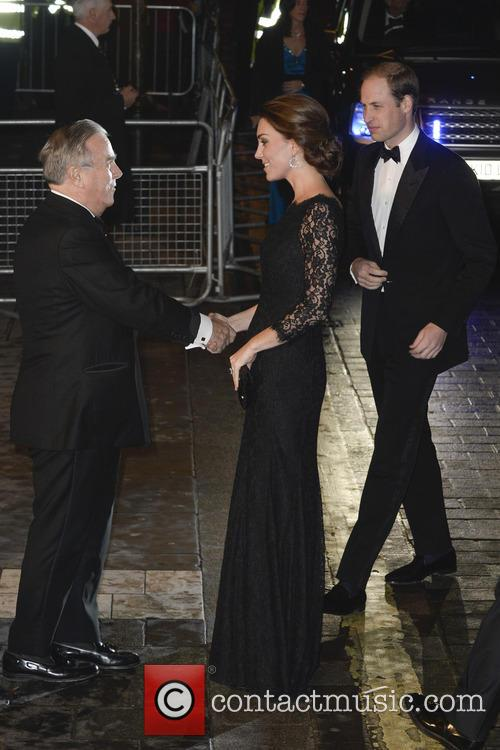 Duke and Duchess of Cambridge attends Royal Variety...