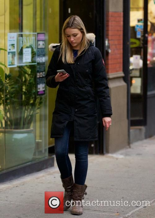 Katrina Bowden out and about in the East...