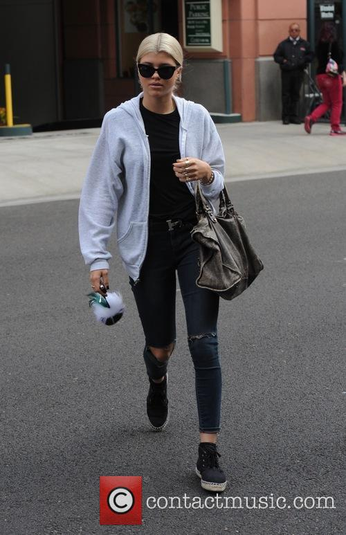 Sofia Richie goes shopping in Beverly Hills