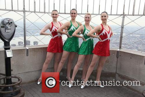The Rocettes light up the Empire State Building