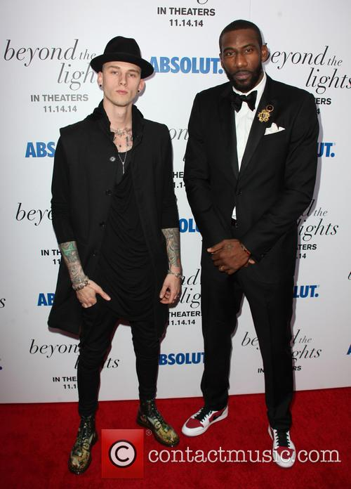 The Lights, Colson Baker, Machine Gun Kelly and Amar'e Stoudemire 7