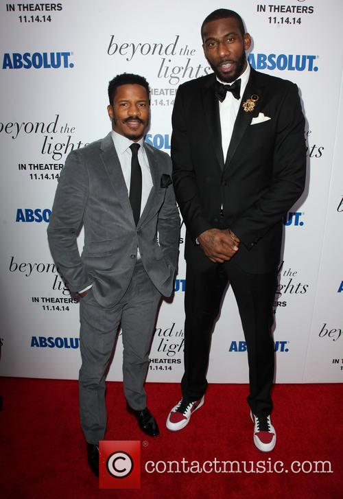 Nate Parker and Amar'e Stoudemire 5