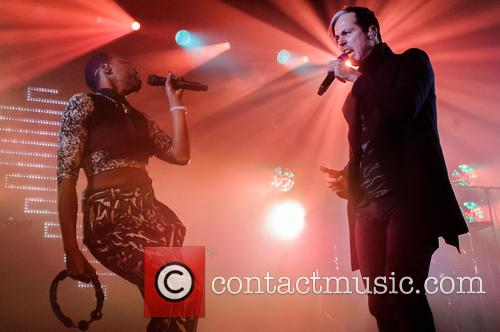 Fitz, The Tantrums, Noelle Scaggs and Michael Fitzpatrick 2