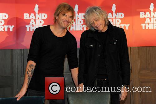 Andreas Frege Aka Campino, Die Toten Hosen and Sir Bob Geldof 2