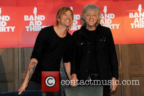 Andreas Frege Aka Campino, Die Toten Hosen and Sir Bob Geldof 3