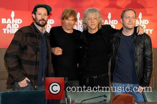 Max Herre, Andreas Frege Aka Campino, Die Toten Hosen, Sir Bob Geldof and Thees Uhlmann 2