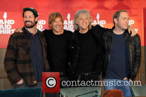 Max Herre, Andreas Frege Aka Campino, Die Toten Hosen, Sir Bob Geldof and Thees Uhlmann 3