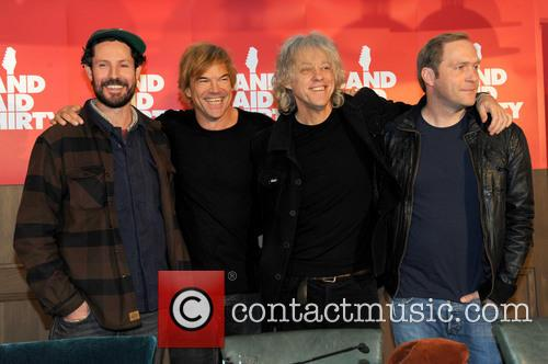 Max Herre, Andreas Frege Aka Campino, Die Toten Hosen, Sir Bob Geldof and Thees Uhlmann