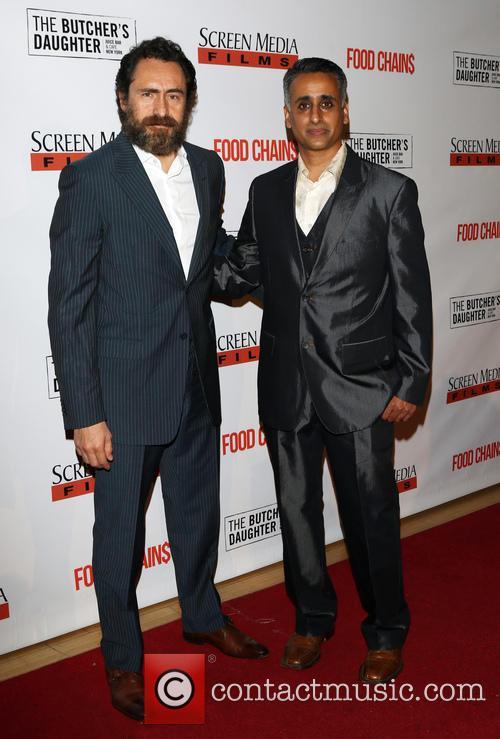 Demian Bichir and Sanjay Rawal 10