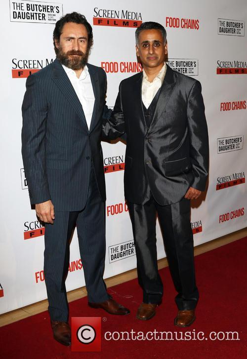 Demian Bichir and Sanjay Rawal 11
