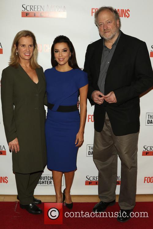 Kerry Kennedy, Eva Longoria and Hamilton Fish 5