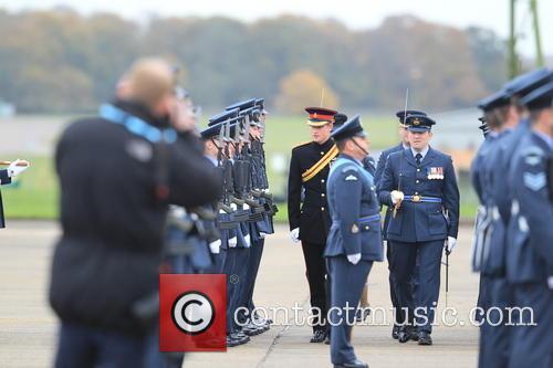 Prince Harry, Honorary Air Commandant and Raf Honington 11