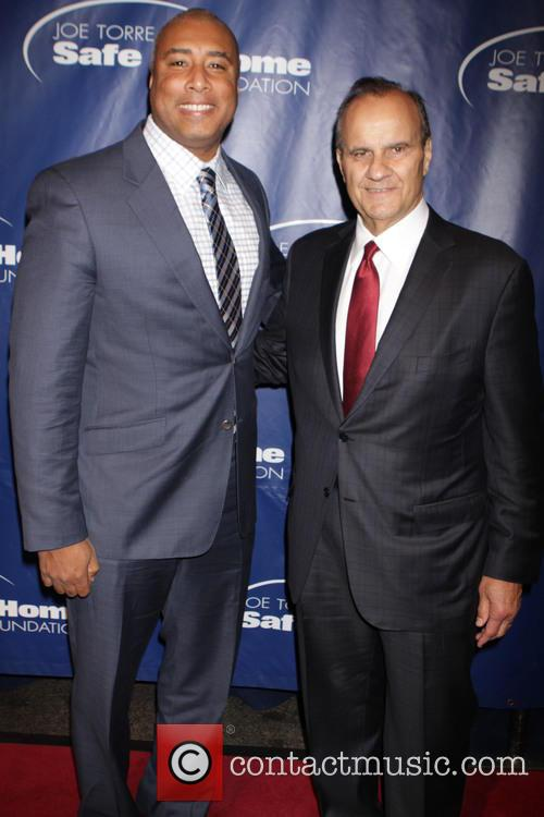 Bernie Williams and Joe Torre