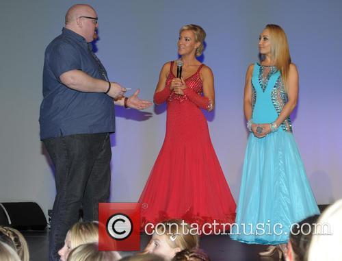 Pete Morgan, Natalie Lowe and Iveta Lukosivte 6