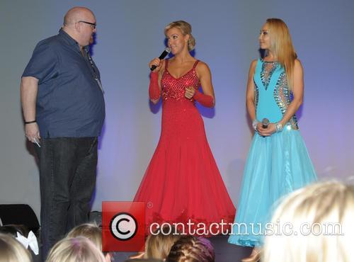Pete Morgan, Natalie Lowe and Iveta Lukosivte 7