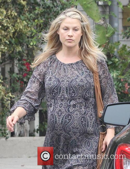 Pregnant Ali Larter spotted out in West Hollywood...