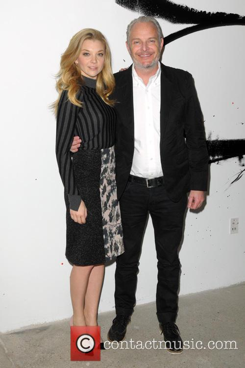 Natalie Dormer and Francis Lawrence 2
