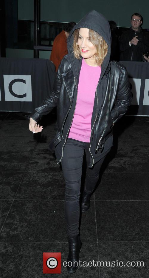 Celebrities at the BBC Breakfast studios