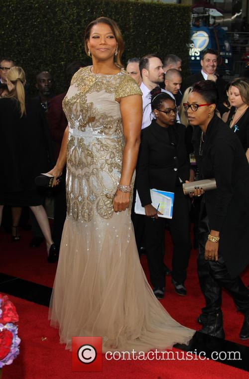 Queen Latifah and And Girlfriend Jeanette Jenkins 2