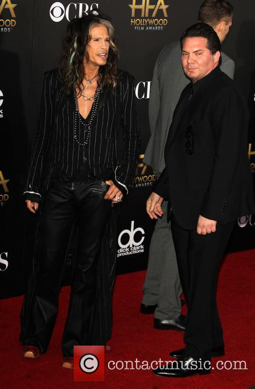 Steven Tyler and Andy Gelb 7