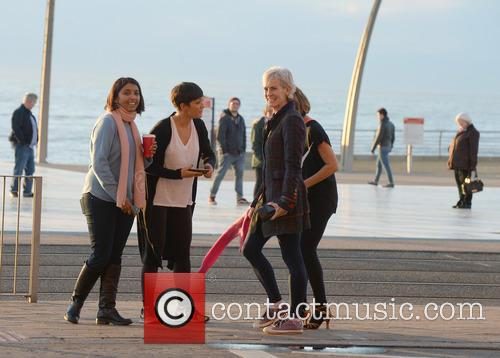 Judy Murray, Caroline Flack, Frankie Bridge and Sunetra Sarker 3
