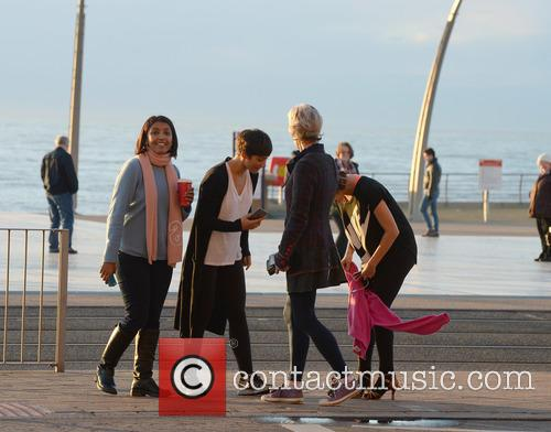 Judy Murray, Caroline Flack, Frankie Bridge and Sunetra Sarker 4