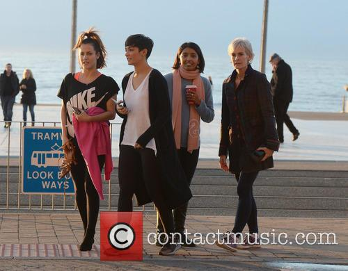 Judy Murray, Caroline Flack, Frankie Bridge and Sunetra Sarker