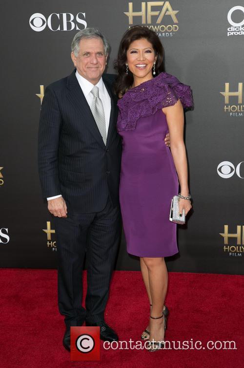 Leslie Moonves and Julie Chen 1