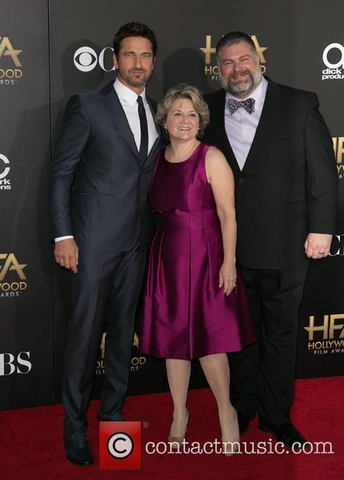 Gerard Butler and Parents 4