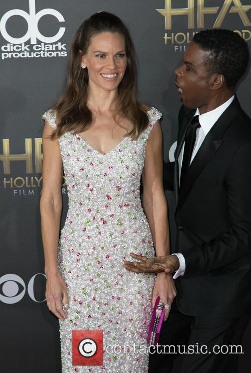 Hilary Swank and Chris Rock 11