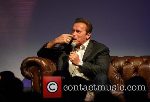 Jonathan Ross hosts an evening with Arnold Schwarzenegger