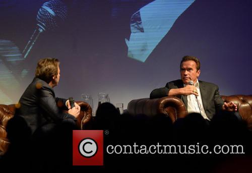 Arnold Schwarzenegger and Jonathan Ross 10