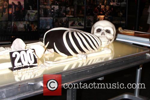 Celebration and Bones 200 Show Cake 2