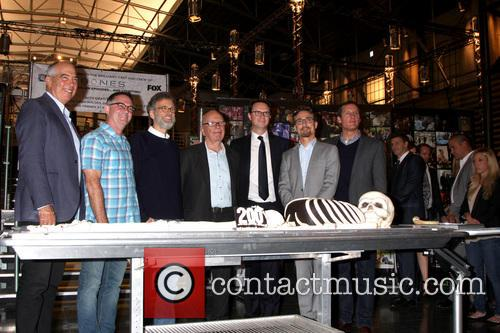Fox Executives, Bones Executives and Rupert Murdoch 2