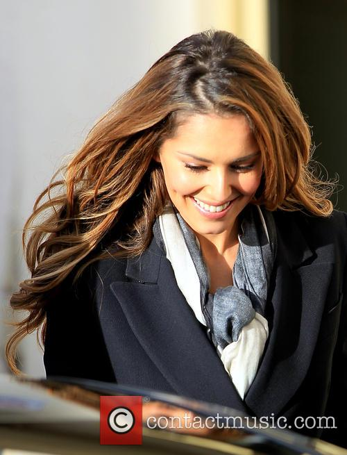 Cheryl Fernandez-Versini leaves the X factor studios