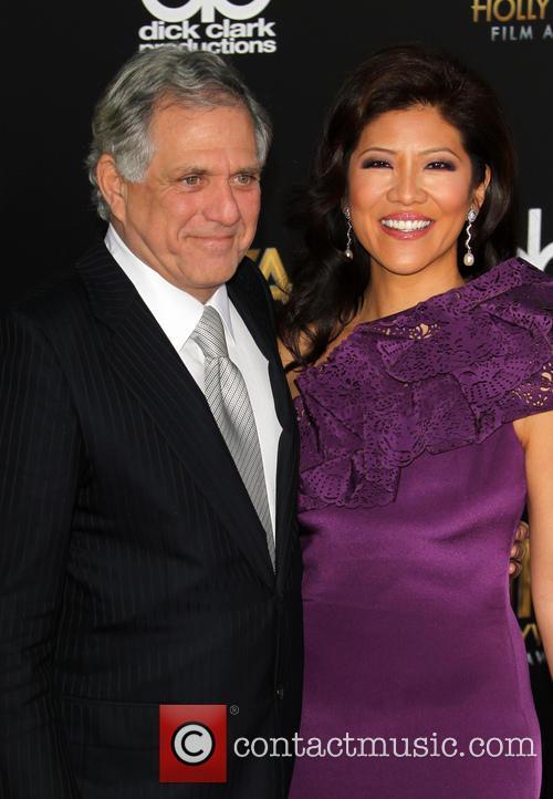 Leslie Moonves and Julie Chen 3
