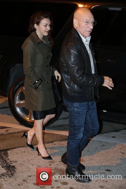 Patrick Stewart and Sunny Ozell 2