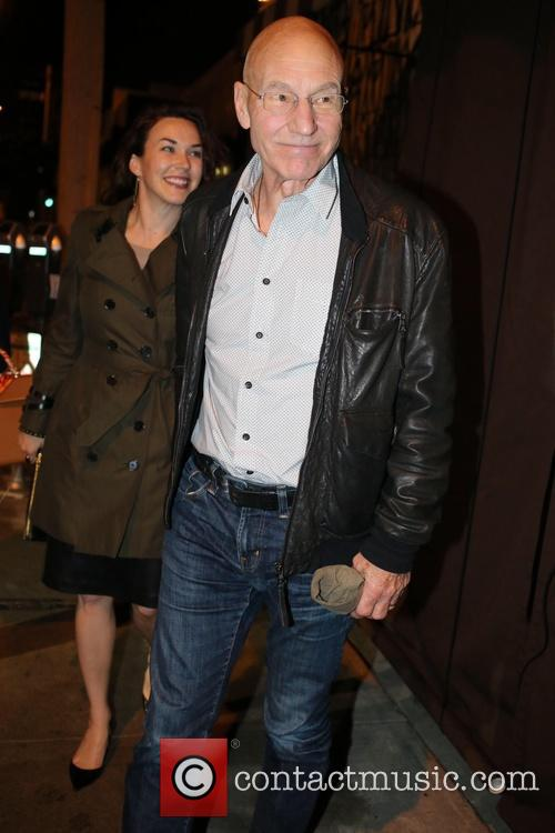 Patrick Stewart and Sunny Ozell 6