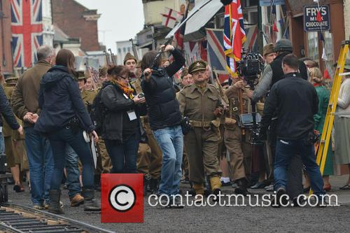 'Dad's Army' films in Bridlington, Yorkshire