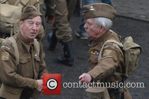 'Dad's Army' films in Bridlington, Yorkshire